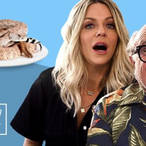 Danny DeVito Refuses Canned Snake & Blames People for Farting | Disgustingly Healthy | Men's Health