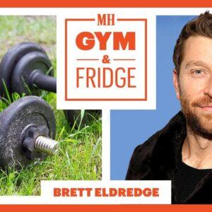 Brett Eldredge Shows His Gym & Fridge on Tour | Gym and Fridge | Men's Health