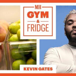 Kevin Gates Shows His Home Gym & Fridge | Gym & Fridge | Men's Health