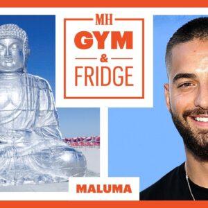 Maluma Shows His Miami Gym & Fridge | Gym and Fridge | Men's Health