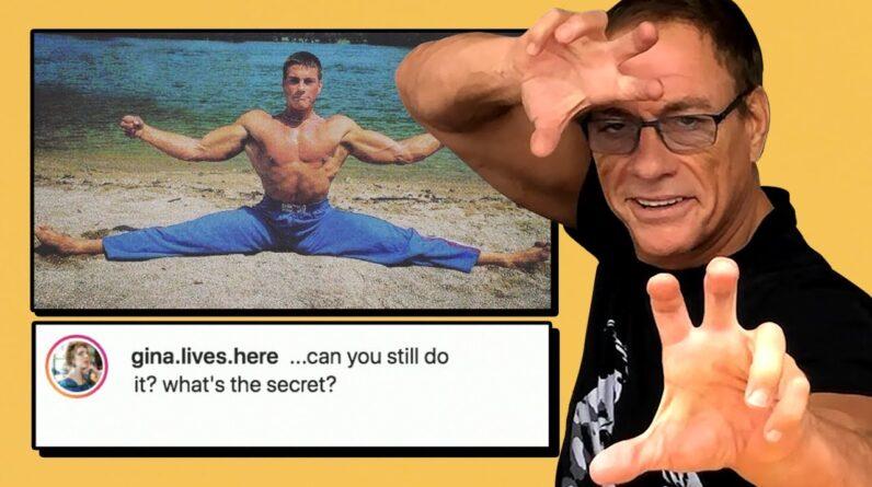 Jean Claude Van Damme Explains Those Splits | Vs The Internet | Men's Health