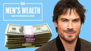 Ian Somerhalder on The Worst Money He's Ever Blown | Men'$ Wealth | Men's Health