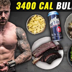 What I Eat to GAIN SIZE (Full Day of Bulking)