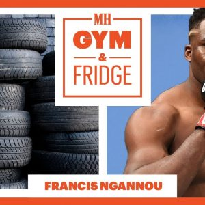 UFC Heavyweight Champion Francis Ngannou's EVERYDAY Training Routine | Gym & Fridge | Men's Health